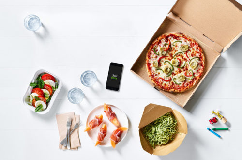 uber eats pizza