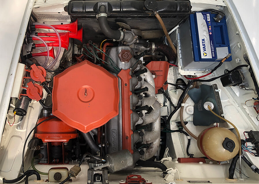 fiat 1800 engine
