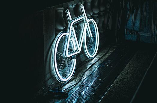 lumini bicicleta